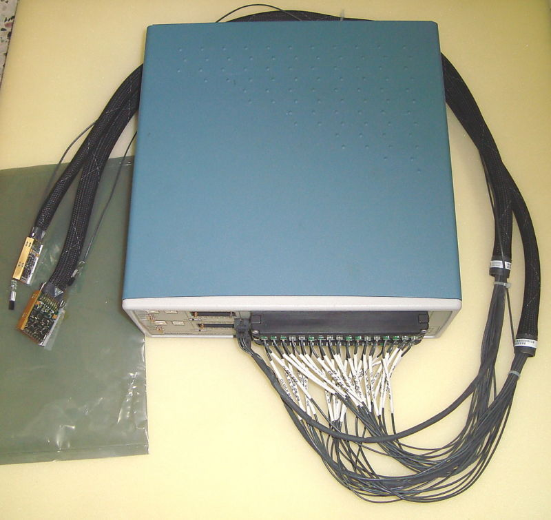 TEKTRONIX TMS817 LOGIC ANALYZER SUPPORT FOR PCI EXPRESS. 2.5 GB/S